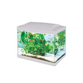 Akvarijní set HAILEA LED K20 bílý (20l) 36x23x29cm (3W, 200l/hod