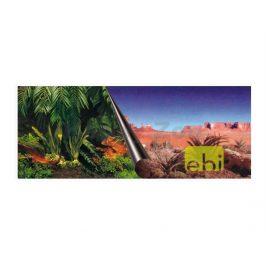 Akvarijní pozadí DUVO+ oboustranné Jungle/Desert 120x50cm