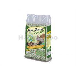 PETS DREAM Paper Pur papírová podestýlka 10l (4,3kg)
