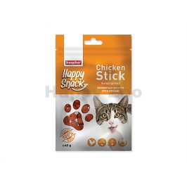 BEAPHAR Happy Snack Cat Chicken Stick 40g (DOPRODEJ)