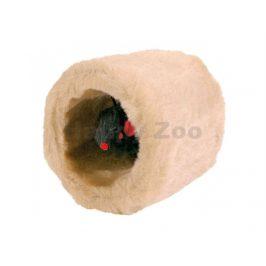 Hračka TRIXIE plyš - tunel s myší 8cm
