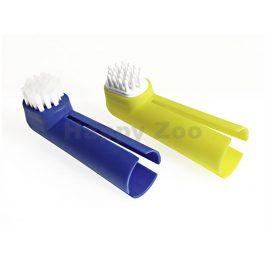 Zubní kartáček FLAMINGO na prst (2ks)