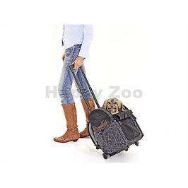 Batoh a taška s kolečky 2v1 FLAMINGO Smart Trolley City 32x29x52
