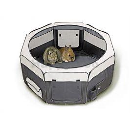 Nylonový výběh pro štěňata nebo králíky FLAMINGO Smart Top Loft