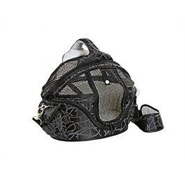 Taška a pelech FLAMINGO Shopper de Luxe černý 48x40x36cm (M)