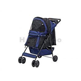 Kočárek FLAMINGO Smart Buggy tmavě modrý 87x40x93cm (do 8kg) (s