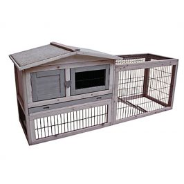 Dřevěná klec pro králíky FLAMINGO Sunshine Cottage 155x53x70cm