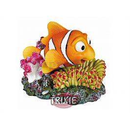 Dekorace TRIXIE - korál s barevnou rybou 12cm