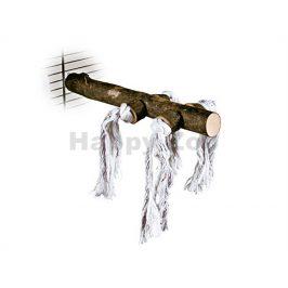 Dřevěné bidýlko TRIXIE s bavlnou velké 25cm