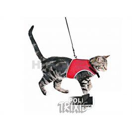 Postroj s vodítkem pro kočku TRIXIE Xcat 24-42cm (MIX BAREV)
