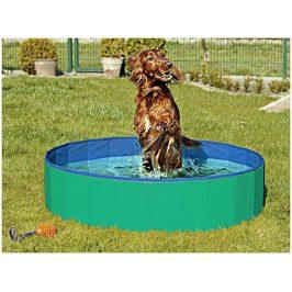 Bazén pro psy FLAMINGO Doggy Pool zelenomodrý 30x120cm