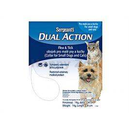 SERGEANT´S Dual pro malé psy a kočky 34cm