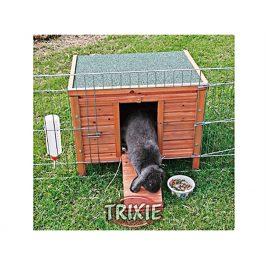 Dřevěný domek pro králíky TRIXIE 42x43x51cm