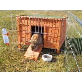 Dřevěný domek pro králíky TRIXIE 60x47x50cm