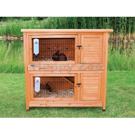 Dřevěná klec pro králíky TRIXIE 116x111x65cm