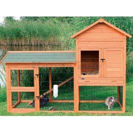 Dřevěná klec pro králíky TRIXIE 186x146x93cm