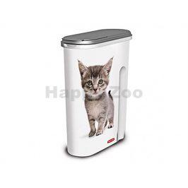 CURVER plastový barel na krmivo pro kočku 1,5kg