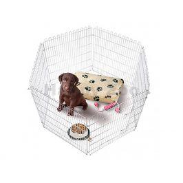 Ohrádka pro štěňata FLAMINGO Puppy Run (L) 160x100cm