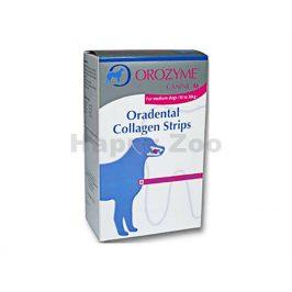 OROZYME žvýkací plátky pro psy (M) (10-30kg) 141g