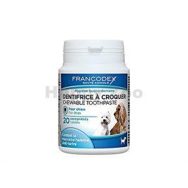 FRANCODEX žvýkací zubní pasta v tabletách pro psy (20tbl)