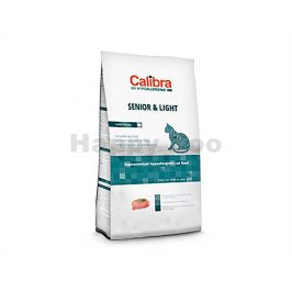 CALIBRA Cat Hypoallergenic Senior & Light Turkey & Rice 2kg