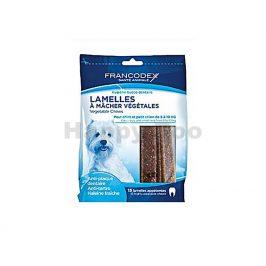 FRANCODEX Weggy žvýkací plátky pro psy (S) 224g (15ks)
