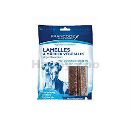 FRANCODEX Weggy žvýkací plátky pro psy (L) 490g (15ks)
