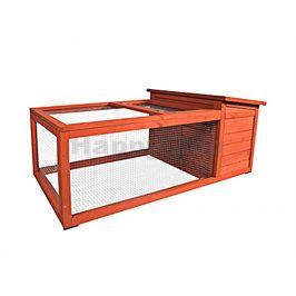 Dřevěná klec pro králíky FLAMINGO Atto 120x65x51cm