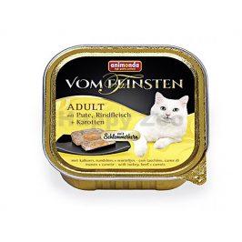 Paštika VOM FEINSTEN Core kuřecí, hovězí a mrkev 100g (kočka)