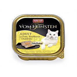 Paštika VOM FEINSTEN Core krůta, hovězí a mrkev 100g (kočka)