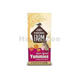 SUPREME Tiny Farm Snack Gerbil Yummies 120g