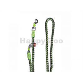 Vodítko JK Comfort přepínací zelené 1,5x200cm