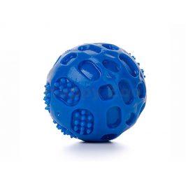 Hračka JK guma TPR - míč Strong modrý 6cm