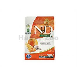 N&D Grain Free Ocean Cat Adult Pumpkin, Herring & Orange 300g