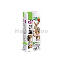 Tyčky LOLO Basic ovocné pro hlodavce 90g (2ks)
