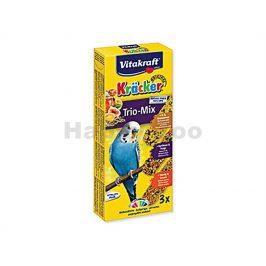 VITAKRAFT Kracker tyčky pro andulky - med, vejce, ovoce (3ks)
