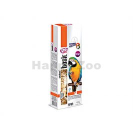 Tyčky LOLO Basic Mega ořechové a kokosové pro velké papoušky 450