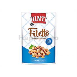 Kapsička RINTI Filetto - kuře a kachna v želé 100g