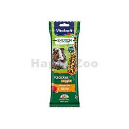 Tyčky VITAKRAFT Emotion Kracker Veggie Guinea Pig 112g (2ks)