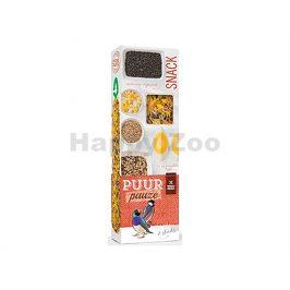 Tyčinky PUUR Pauze Snack - divoká semene pro exoty 60g (2ks)