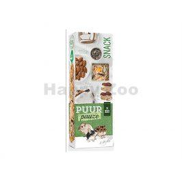 Tyčinky PUUR Pauze Snack - ořechové pro hlodavce 110g (2ks)