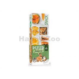 Tyčinky PUUR Pauze Snack - exotické ovoce pro hlodavce 110g (2ks