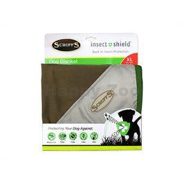 Deka SCRUFFS Insect Shield Blanket hnědá 145x110cm