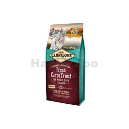 CARNILOVE Cat Fresh Carp & Trout Sterilized 2kg