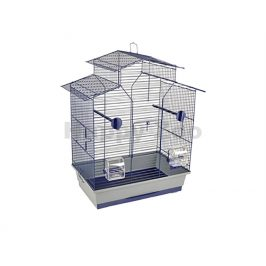 Klec pro ptáky FLAMINGO Budgie Numfor 1 modrá 51x30x60cm
