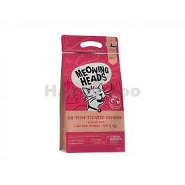 MEOWING HEADS New So-Fish-Ticated Salmon 4kg