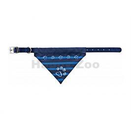 Obojek TRIXIE se šátkem modrý (S-M) 2x30-38cm