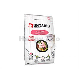 ONTARIO Cat Fresh Meat Kitten Chicken 0,4kg