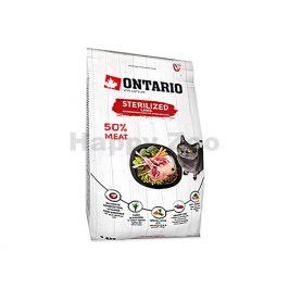 ONTARIO Cat Fresh Meat Sterilized Lamb 2kg