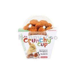 ZOLUX Crunchy Cup mrkev a len 200g